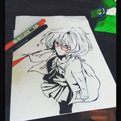 Kuriyama Mirai by fred22e