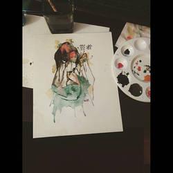 Dreaming Geisha by fred22e