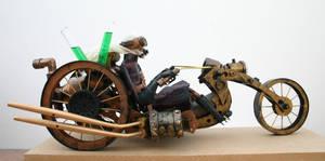 Steam Punk bike by impsandthings