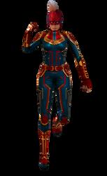 Render: Captain Marvel by 4n4rkyX