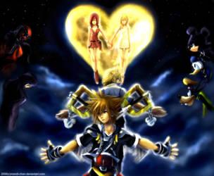 ::Kingdom Hearts II-Complete:: by mandi-chan