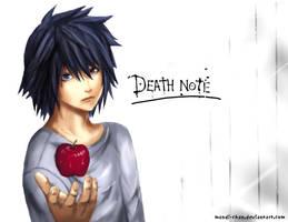 -L- Death Note by mandi-chan