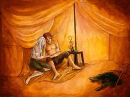 Aeden and Yalai by matildarose