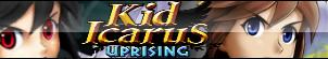 Kid Icarus Uprising Fan Button by Allen-WalkerDGrayMan