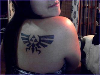 I Love my freaking tattoo by Zhangos
