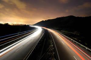 nighty highway by sileh