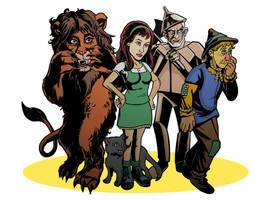 Wizard of Oz by TonyDennison