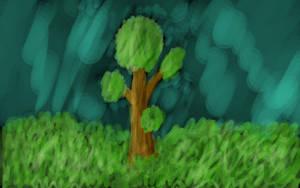 Drzewko by Kanindor