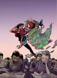 Elisa y los mutantes COVER by Gaboxelias