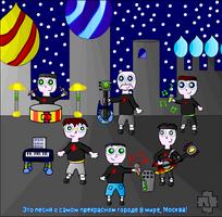 Rammstein - Moskau by MidnightInMoscow