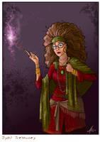 Sybil Patricia Trelawney by WhiteElzora