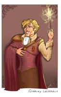 Gilderoy Lockhart by WhiteElzora