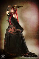 Dragon Queen Dress - Original design - 1 by Atsukine-chan