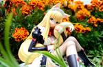 In the Garden by HunterX-v2