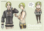 Character page: Chartreuse by NewZealandKiwi