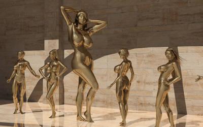 Timeline 1322: Gold Squad 2 by Tecknophyle