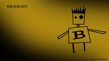 The Box Boy - Original Character By Lights Sun by sunwarp