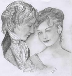 Jane Austen by aidinera