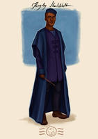 Order of the Phoenix - Kingsley Shacklebolt by aidinera