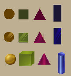 shading simple objects by Lumi-Yugen