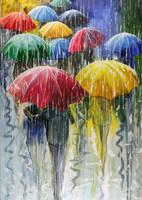 Umbrellas by Doominowskiy