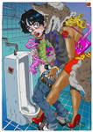 The thirteenth line restroom by KaneoyaSachiko