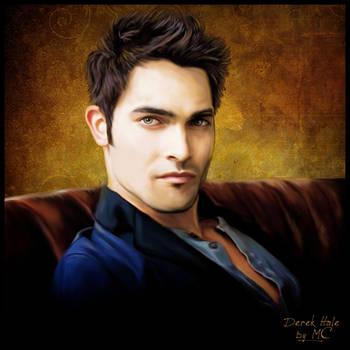 Derek Hale - Tyler Hoechlin Portrait by Elettra