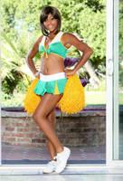 Ebony Cheerleader 01 by Hanzo-Hasashi