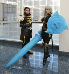 AX2011 - Selvaria and Jaeger by Giolon