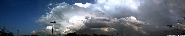Storm Clouds -wide- by ezwerk