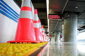 March of the BART Cones by ezwerk