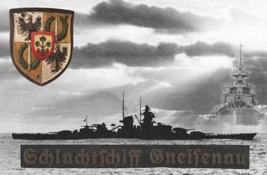 Schlachtschiff Gneisenau Tribute by 2dresq