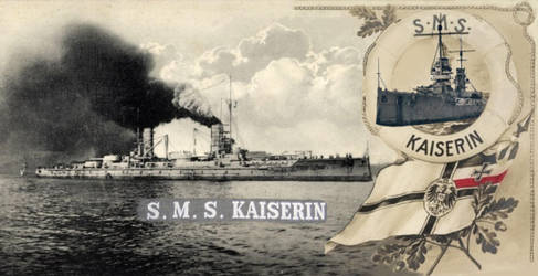 SMS Kaiserin (JustinG photomerge) by 2dresq