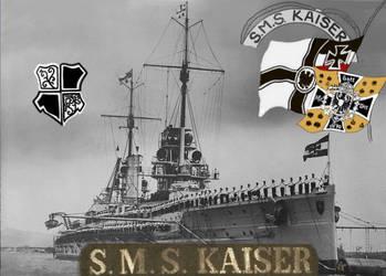 SMS Kaiser by 2dresq