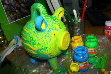 Pig Money by ReigTDreve