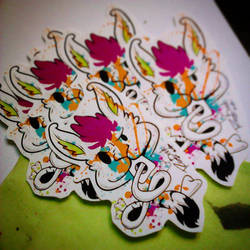 First Stickers by ReigTDreve