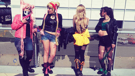 Sailor Moon Punk Version by LunaCavezza