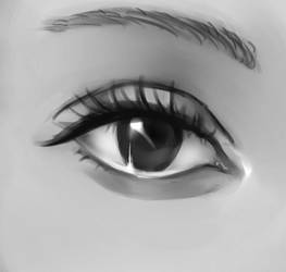 365/Realistic Eye Challenge by DeadontheLeftSide