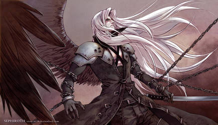 FF7 One Winged Angel by Virus-AC