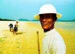 Fisherman on Silver Beach by Peanut-Dragon