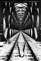 Railway Bridge by Peanut-Dragon