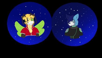 Jordain and Starla {Com} by Firefoxgirl96