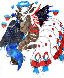 Kitsu and Raven {YCH} by Firefoxgirl96