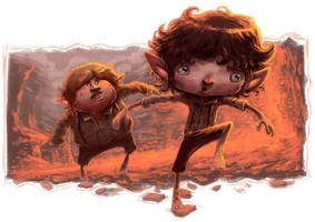 Lord of the Rings by thurZ