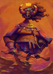 African Warrior by thurZ