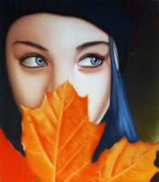 Lady Of Autumn by Bobby-castaldi-art