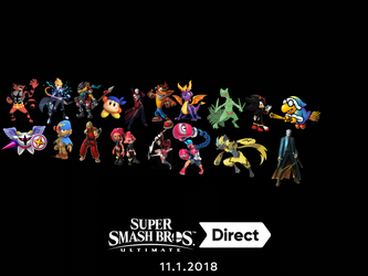 Super Smash Bros Ultimate Wishlist  by JTLDrago94