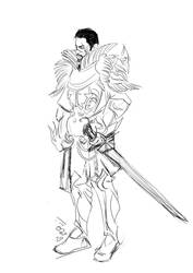 GW2 Doodle : Adam Keegan by Gilmeril