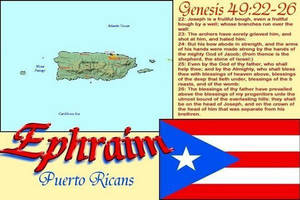 Tribe of Ephraim are The so called Puerto Ricans by 12TribesOfIsrael
