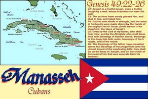 Tribe of Manasseh so called Cubans by 12TribesOfIsrael